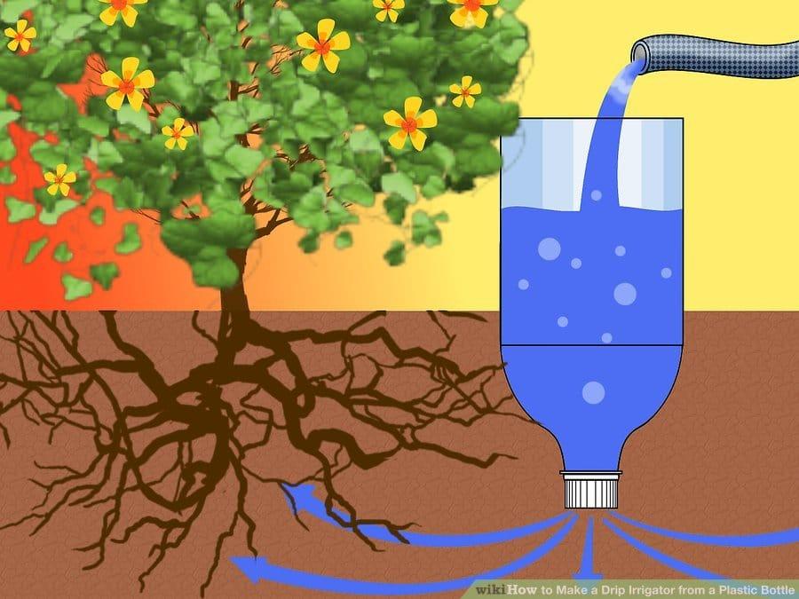 homemade drip irrigation