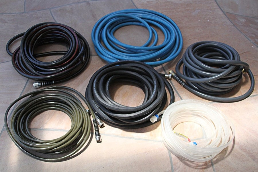types of water hoses