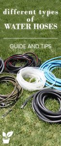 hose guides - in this article you will learn about the Different types of water hoses, and the water hose uses.find out what is the best garden hose for you!for your backyards garden.