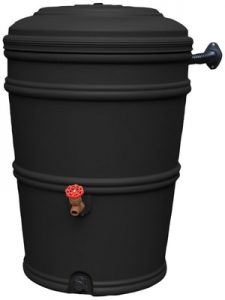 Earthminded prn1053 rainstation, recycled - 50 gallon - Decorative Rain Barrels