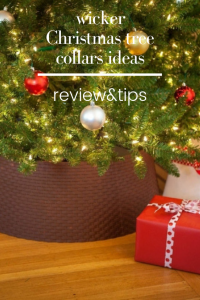 wicker Christmas tree collars ideas-give beauty to your Christmas tree! Tree Collars Are the Christmas Decor You Didn't Know You want. with wicker tree Christmas decorations, your tree will not only be amazing, but it will also be stable.wicker tree decor|wicker baskets ideas Christmas.#wicker#collar#christmas#tree#decor#wickercollar#wickertree