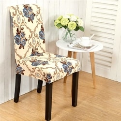 Gogolan Soft Stretch Spandex Dining Room Wedding Banquet Chair Seat Cover Party Decor