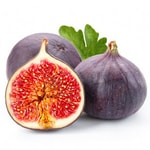 fruits with seeds - fig