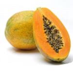 fruits with seeds - Papaya