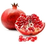 fruits with seeds - Pomegranate