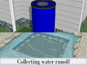 Collecting water runoff