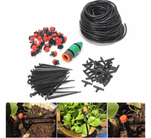 Drip Irrigation It's an inexpensive, easy-to-operate system, easy to spot a pipe leak, and of course easy to fix.