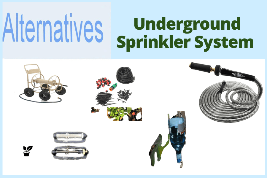The Best Alternatives to Underground Sprinkler System