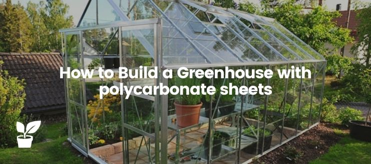 How to Build a Greenhouse with polycarbonate sheets