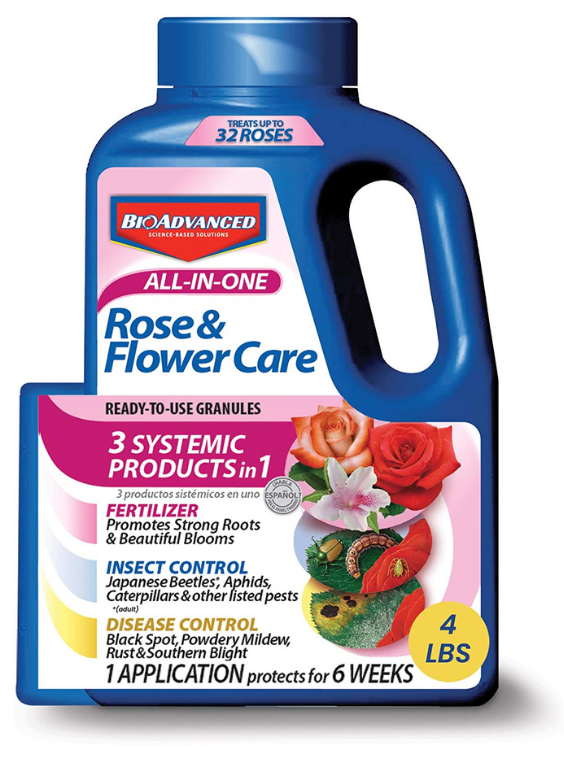 systemic fungicide - Rose and Flower Care